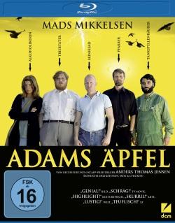 """Das Blu-ray-Cover von """"Adams Äpfel"""" (Quelle: DCM)"""