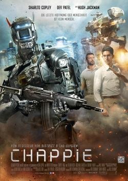 "Das Kino-Plakat von ""Chappie"" (Quelle: Sony Pictures Germany)"