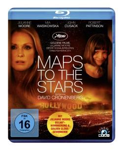 "Das Blu-ray-Cover von ""Maps to the Stars"" (Quelle: MFA Film)"
