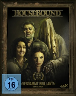 "Das Blu-ray-Cover von ""Housebound"" (Quelle: MFA Film)"