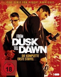 """Das Blu-ray Cover von """"From Dusk Till Dawn Staffel 1"""" (Quelle: WVG Medien)"""