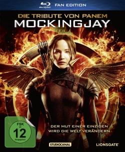 """Das Blu-ray-Cover von """"Die Tribute von Panem: Mockingjay Teil 1"""" (Quelle: StudioCanal)"""