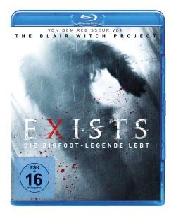 """Das Blu-ray-Cover von """"Exists"""" (Quelle: WVG Medien)"""