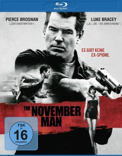 "Das Blu-ray-Cover von ""The November Man"" (© SquareOne/Universum)"