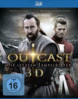 "Das 3D-Blu-ray-Cover von ""Outcast - Die letzten Tempelritter"" (Quelle: Universum Film)"