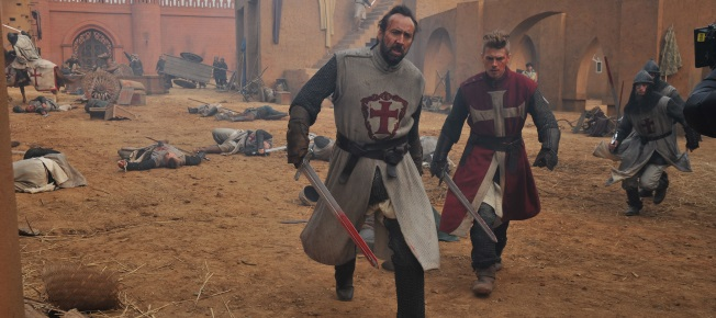 Gallain und Jacob in der Schlacht (Quelle: Universum Film)