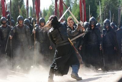 Mit seinem Schwert ist Jacob eine Macht (Quelle: Universum Film)