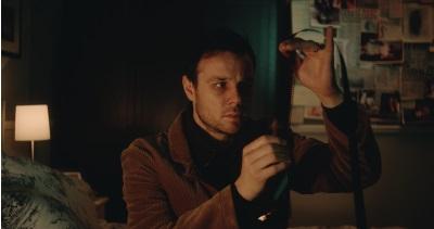 Auf Film sieht David das Unheil kommen (Quelle: Universum Film)