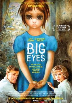 """Das Kino-Plakat von """"Big Eyes"""" (Quelle: StudioCanal)"""