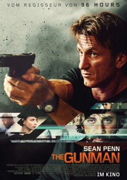"""Das Kino-Plakat von """"The Gunman"""" (Quelle: StudioCanal)"""