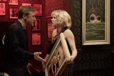Walter und Margaret Keane mit dem künstlerischen Zankapfel (Quelle: StudioCanal)
