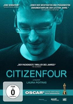 """Das DVD-Cover von """"Citizenfour"""" (Quelle: Piffl Medien)"""