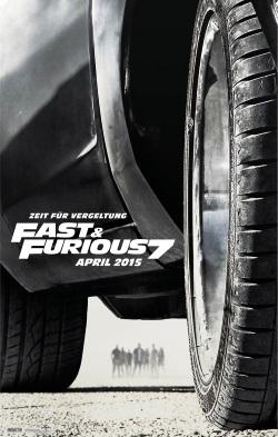"""Das Kino-Plakat von """"Fast & Furious 7"""" (Quelle: Universal Pictures)"""