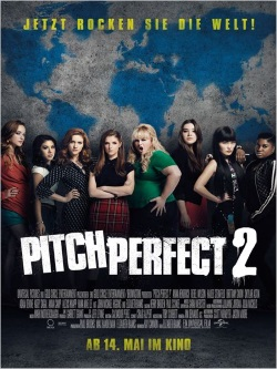 """Das Kino-Plakat von """"Pitch Perfect 2"""" (Quelle: Universal Pictures)"""