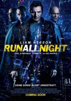 """Das Kino-Plakat von """"Run All Night"""" (Quelle: Warner Bros Pictures Germany)"""