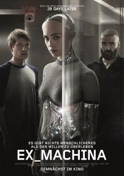 """Das Kino-Plakat von """"Ex_Machina"""" (Quelle: Universal Pictures)"""