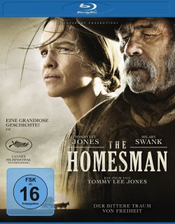 "Das Blu-ray-Cover von ""The Homesman"" (Quelle: Universum Film)"