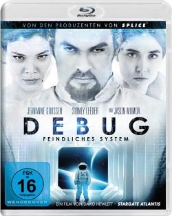 "Das Blu-ray-Cover von ""Debug"" (Quelle: Pandastorm Pictures)"