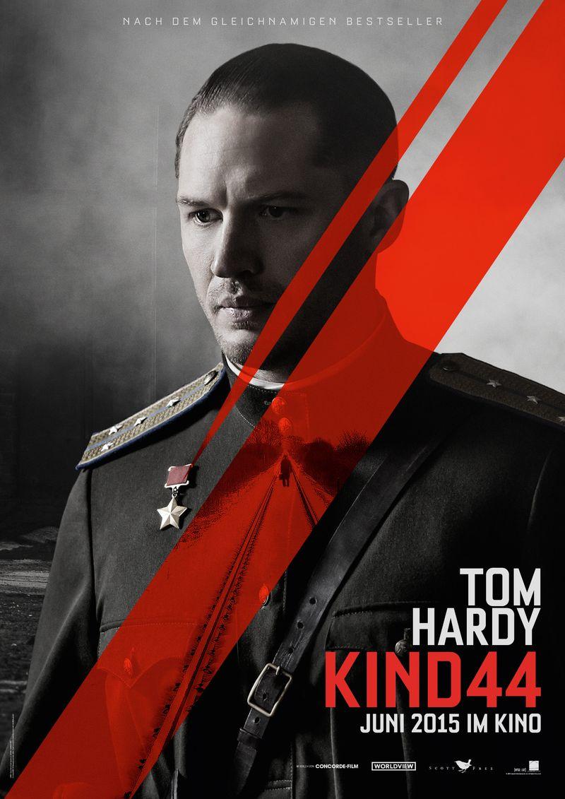 Das Charakterposter von Tom Hardy (Quelle: Concorde Film)