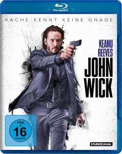 "Das Blu-ray-Cover von ""John Wick"" (Quelle: StudioCanal)"
