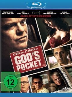 """Das Blu-ray-Cover von """"Leben und Sterben in God's Pocket"""" (Quelle: Universal Pictures)"""