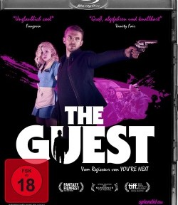 "Das Blu-ray Cover von ""The Guest"" (Quelle: Splendid Film)"