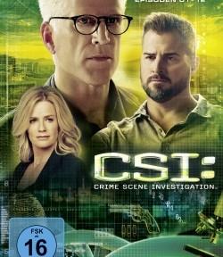 """Das DVD-Cover von """"CSI: Las Vegas"""" (Quelle: Universum Film)"""
