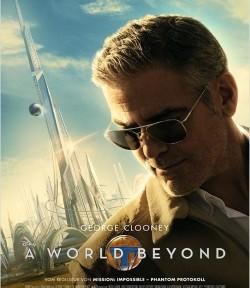 """Das Kino-Plakat von """"A World Beyond"""" (Quelle: Walt Disney Pictures Germany)"""