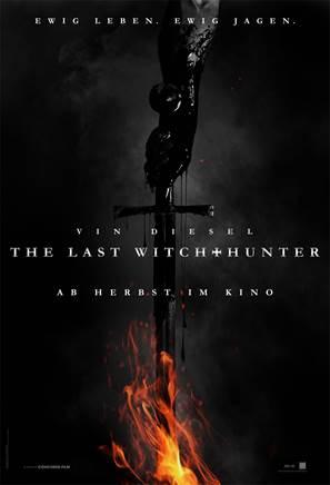 """Das Teaser-Plakat von """"The Witch Hunter"""" (Quelle: Concorde Filmverleih)"""