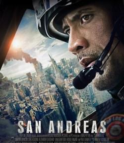 """Das Kino-Plakat von """"San Andreas"""" (Quelle: Warner Bros Pictures)"""