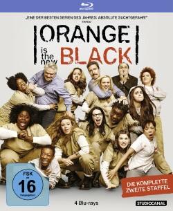 """Das Blu-ray-Cover der zweiten Staffel von """"Orange Is The New Black"""" (Quelle: StudioCanal)"""
