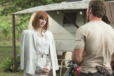 Claire und Owen könnten kaum unterschiedlicher sein (Quelle: Universal Pictures)