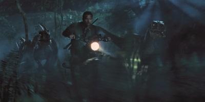 Owen und seine Raptoren (Quelle: Universal Pictures)