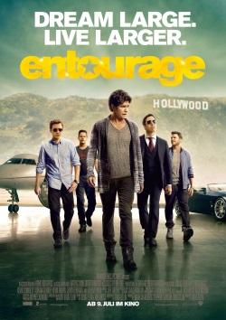 """Das Kino-Plakat von """"Entourage"""" (Quelle: Warner Bros. Pictures)"""