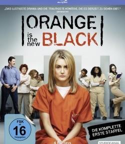 """Das Blu-ray-Cover der ersten Staffel von """"Orange Is the New Black"""" (©StudioCanal)"""