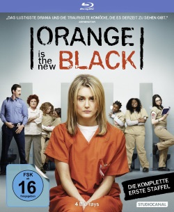 "Das Blu-ray-Cover von ""Orange Is the New Black Staffel 1"" (©StudioCanal)"