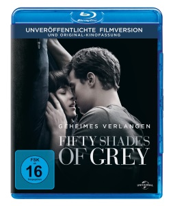 "Das Blu-ray-Cover von ""Fifty Shades of Grey"" (Quelle: Universal Pictures)"