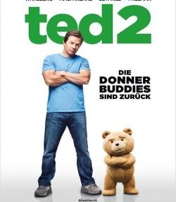 """Das Kino-Plakat von """"Ted 2"""" (©Universal Pictures)"""