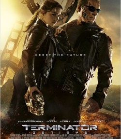 """Das Plakat von """"Terminator Genisys"""" (©: Paramount Pictures)"""