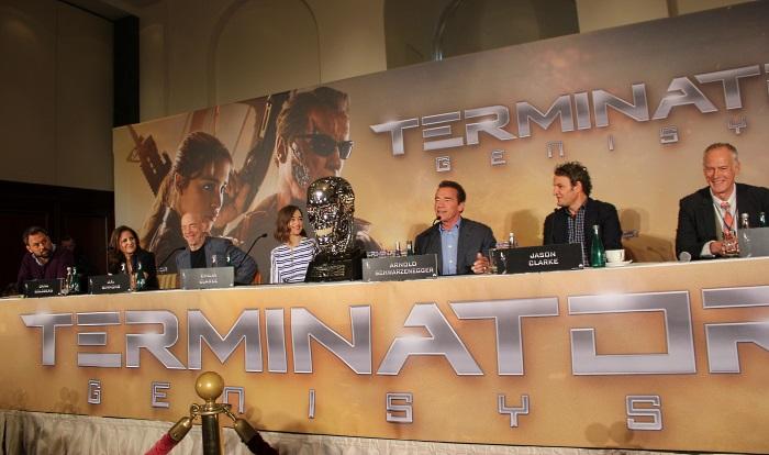 Die Terminator-Crew genoss ihren Aufenthalt in Berlin (© Thomas Trierweiler)