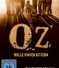 "Das DVD-Cover der dritten Staffel von ""Oz"" (Quelle: Paramount Pictures Home Entertainment)"