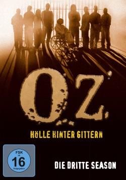 """Das DVD-Cover der dritten Staffel von """"Oz"""" (Quelle: Paramount Pictures Home Entertainment)"""