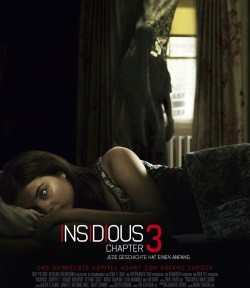 "Das Kino-Plakat von ""Insidious: Chapter 3"" (Quelle: Sony Pictures Germany)Das Kino-Plakat von ""Insidious: Chapter 3"" (Quelle: Sony Pictures Germany)"