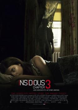 "Das Kino-Plakat von ""Insidious: Chapter 3"" (Quelle: Sony Pictures Germany)Das Kino-Plakat von ""Insidious: Chapter 3"" (Quelle: Sony Pictures Germany)"