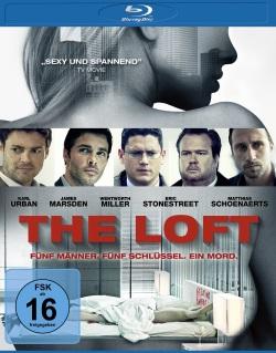 """Das Blu-ray-Cover von """"The Loft"""" (Quelle: Universum Film)"""