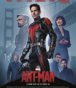 "Das Kino-Plakat von ""Ant-Man"" (©Walt Disney Motion Pictures Germany)"