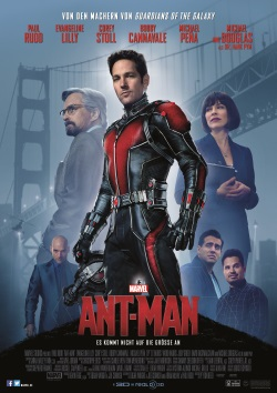 "Das Kino-Plakat von ""Ant-Man"" (©Walt Disney Motion Pictures Germany)"