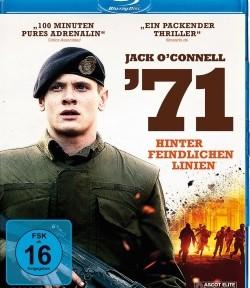 """Das Blu-ray-Cover von """" '71"""" (© Ascot Elite)"""