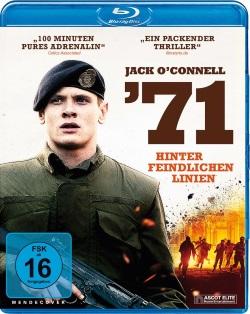 """Das Blu-ray-Cover von """"'71 – Hinter feindlichen Linien"""" (© Ascot Elite)"""