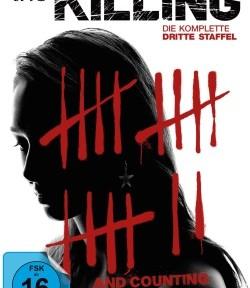 """Das Blu-ray-Cover der dritten Staffel von """"The Killing"""" (©Pandastorm Pictures)"""